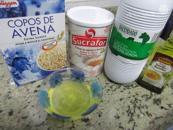 Tortitas de avena light Thermomix