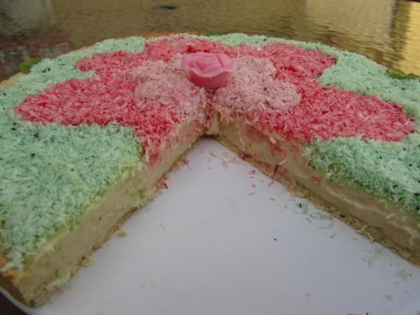 Tarta de crema de coco Ana Sevilla