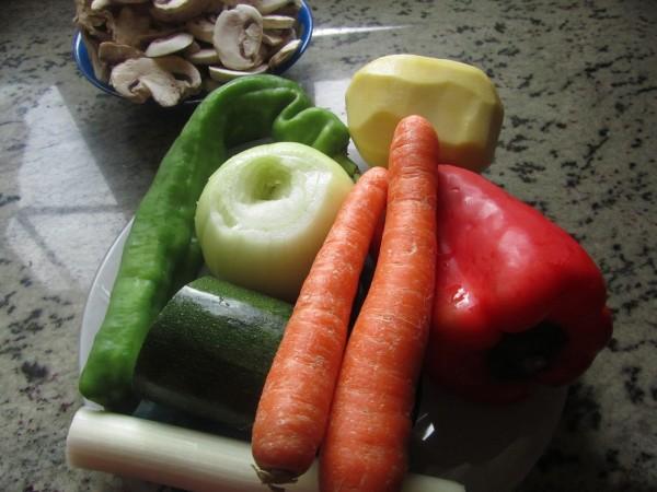 potaje de verduras
