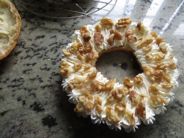 Coronas de nata y nueces con Thermomix