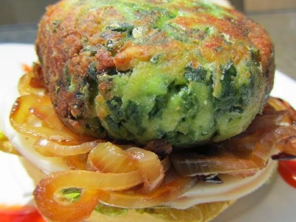 Hamburguesas de pollo y espinacas Ana Sevilla cocina tradicional