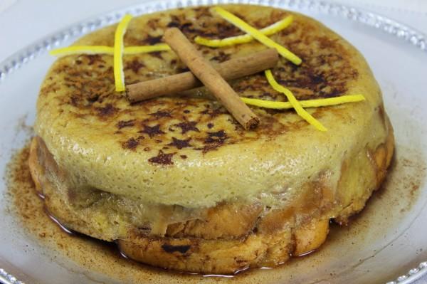 Torta de torrijas olla GM Ana Sevilla