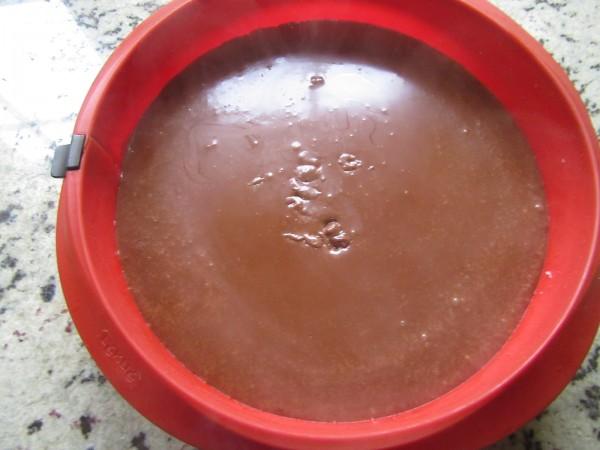 Tarta de turrón dos chocolates Thermomix