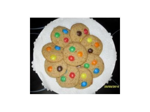 Galletitas arcoiris thermomix
