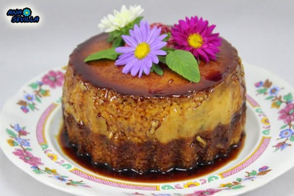 Bizcoflán de vainilla o chocolate Ana Sevilla olla GM