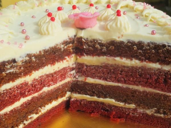 Tarta Red-Velvet (Terciopelo rojo) Thermomix