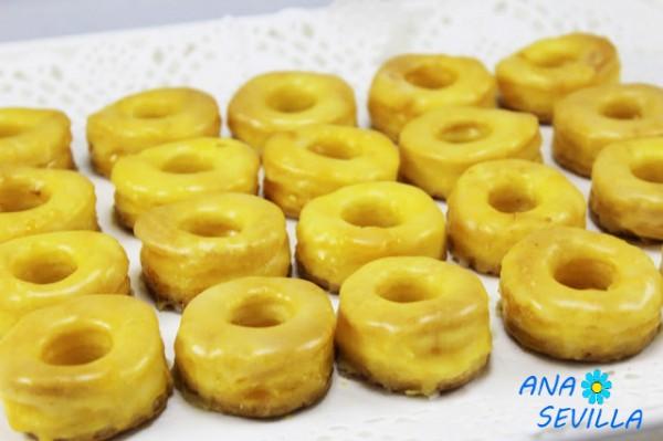Rosquillas de yema (Rosquillas de Alcalá)