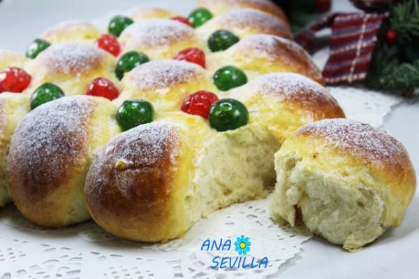 Pan dulce de nata Thermomix Ana Sevilla