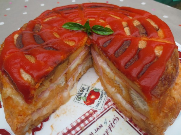 Pastel de sandwich Ana Sevilla