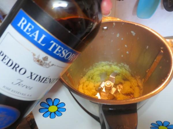 Albóndigas al vino Pedro Ximénez con Thermomix.