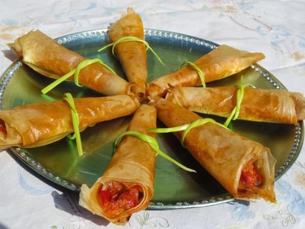 Cucuruchos primavera Ana Sevilla cocina tradicional