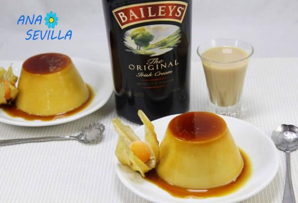 Flan de Baileys Thermomix