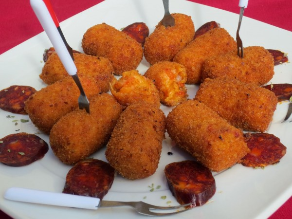 Croquetas de chorizo Ana Sevilla