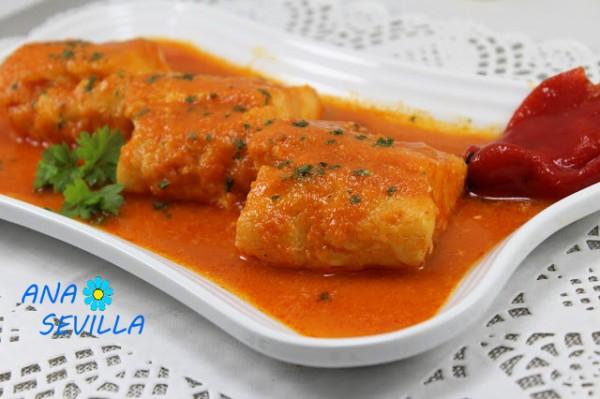 bacalao en salsa de piquillos olla gm Ana Sevilla