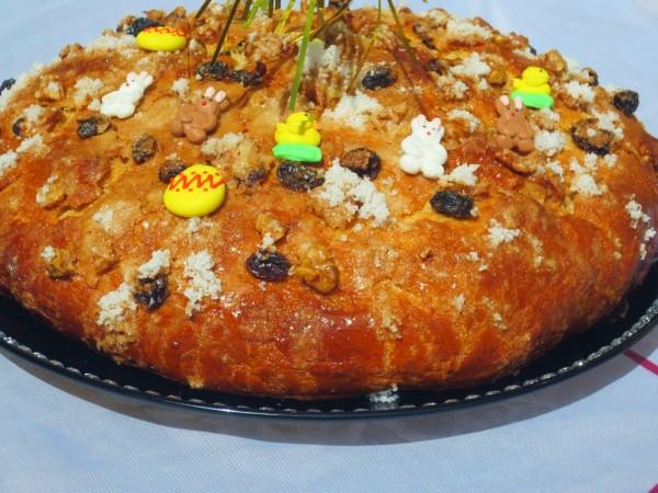 Pan dulce de Pascua Ana Sevilla con Thermomix