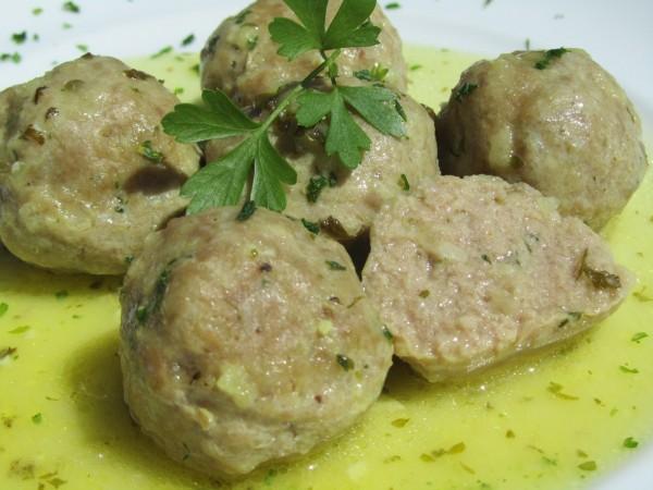 Albóndigas en salsa verde Ana Sevilla