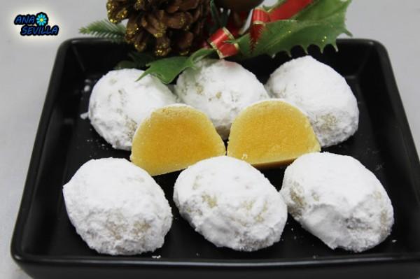 Pasteles Glorias de Navidad Ana Sevilla con Thermomix