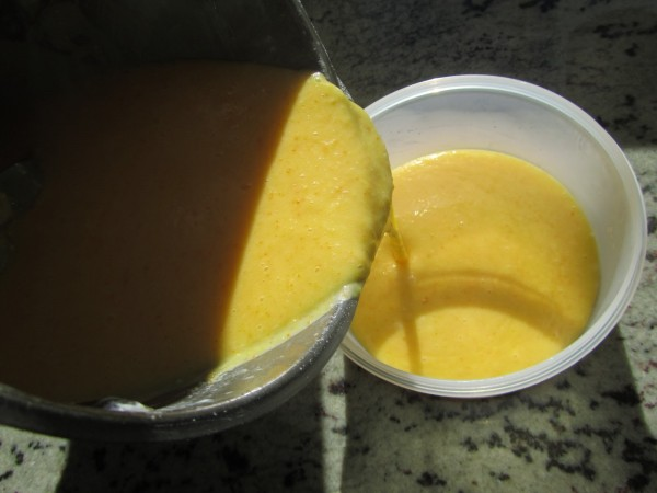 Mandarina curd (O naranja) Thermomix
