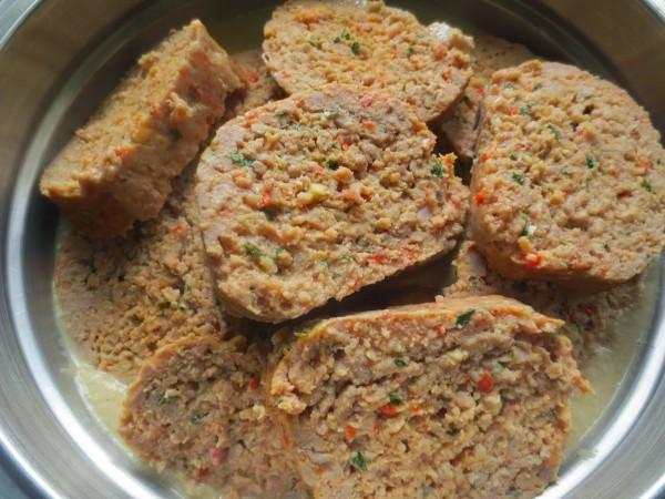 Rollos de carne en salsa de champiñones Thermomix