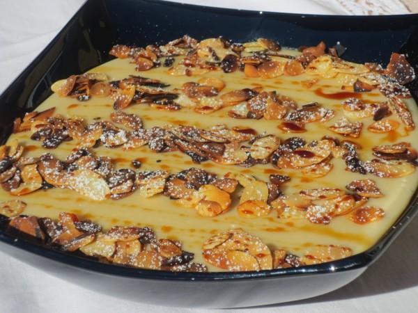 Natillas de almendra cocina tradicional