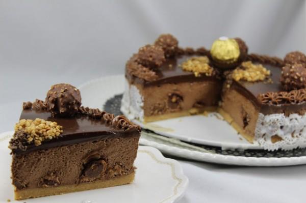 Tarta de Ferrero y nutella Thermomix Ana Sevilla