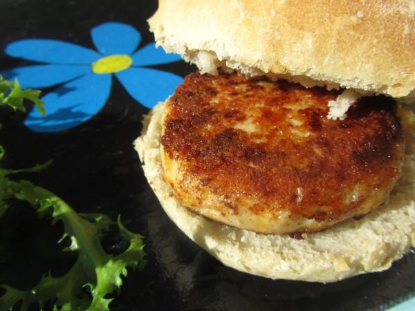 Hamburguesas chicken and cheese (Pollo y queso) Ana Sevilla