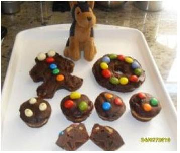 Brownies de galletas y chuches thermomix