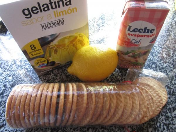 Pastel rápido de limón Thermomix