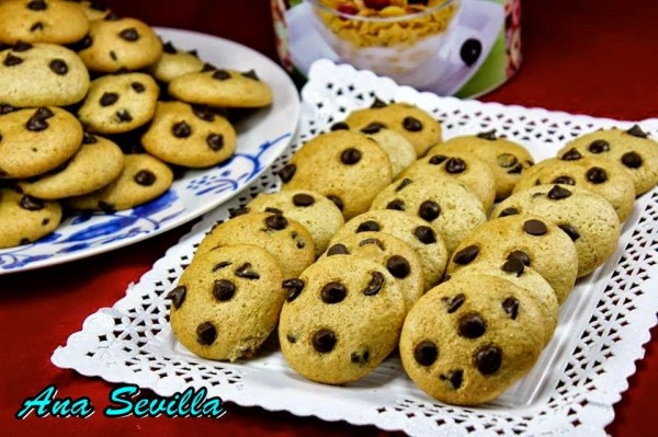 Cookies integrales sin huevo Thermomix