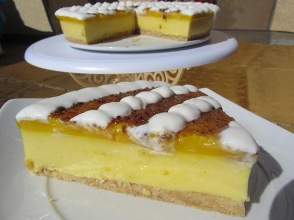 tarta de crema de San José y yema o crema catalana Ana Sevilla Con thermomix