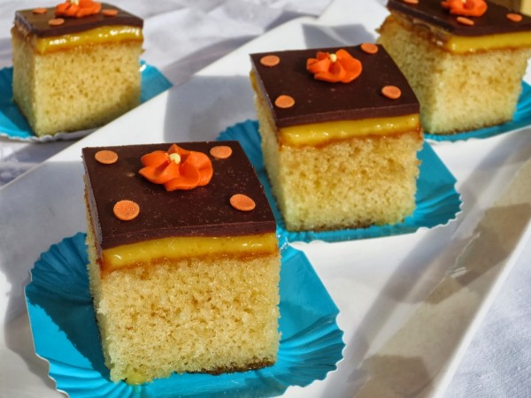 Borrachines de naranja y chocolate con Thermomix Ana Sevilla