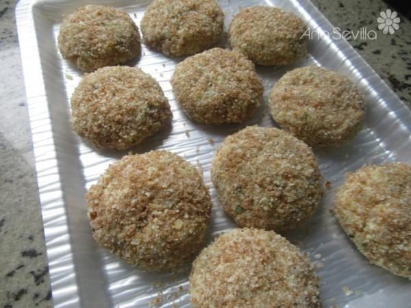 Nuggets de calabacín y pollo Thermomix