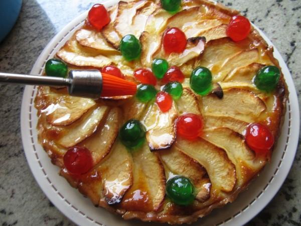 Tarta de queso y manzana con Thermomix