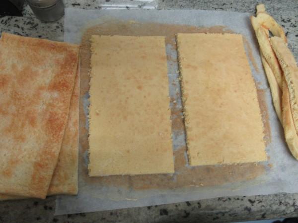 Tarta de yema, bizcocho y hojaldre Thermomix