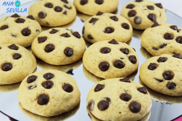 Cookies americanas Ana Sevilla con Thermomix