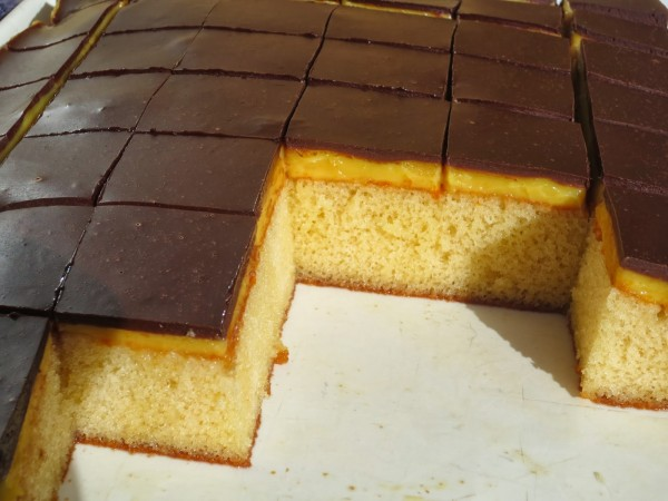 Borrachines de naranja y chocolate Thermomix