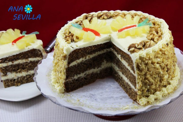 Tarta Colibrí (Cake Hummingbird) Thermomix corte