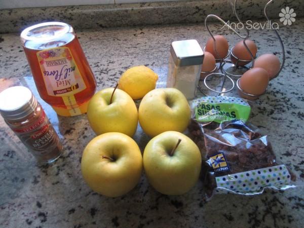 Pastel bretón de manzana Thermomix