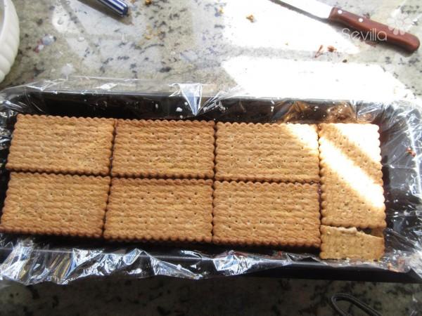 Tarta de galletas y nutella Thermomix