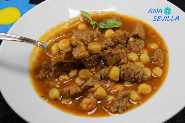 Garbanzos con ternera Thermomix Ana Sevilla