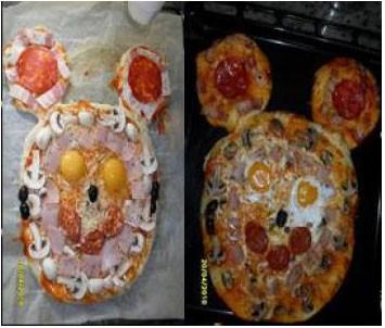 Pizza Italiana divertida thermomix