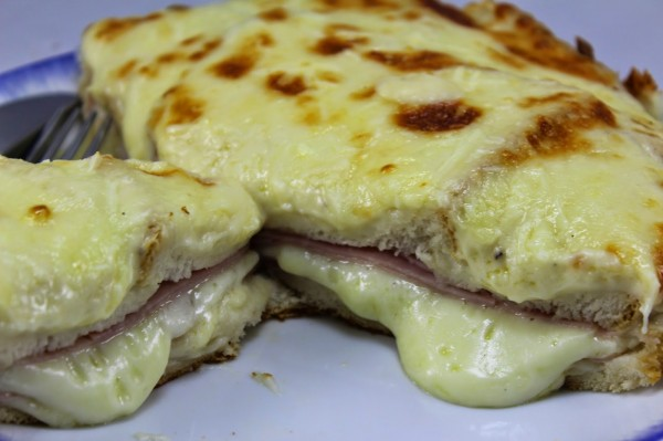 Sandwich Croque-monsieur olla GM Ana Sevilla