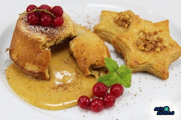 Colulant de turrón Ana Sevilla Cocina tradicional