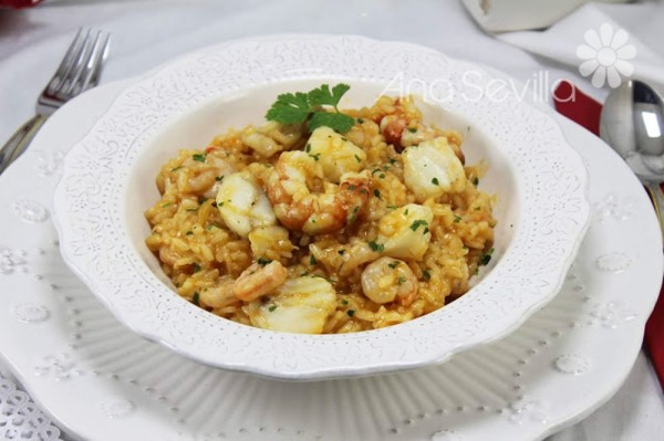 Arroz con rape Thermomix