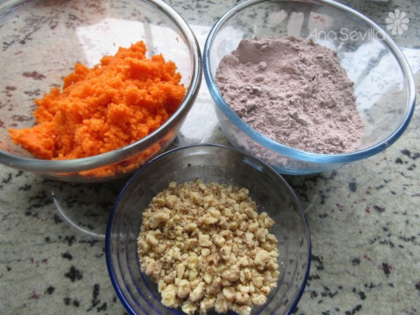 Carrot cake de chocolate Thermomix