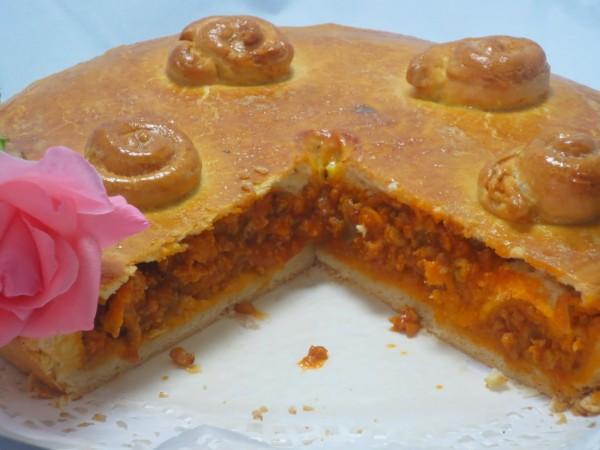 Empanada de carne y tomate Ana Sevilla cocina tradicional