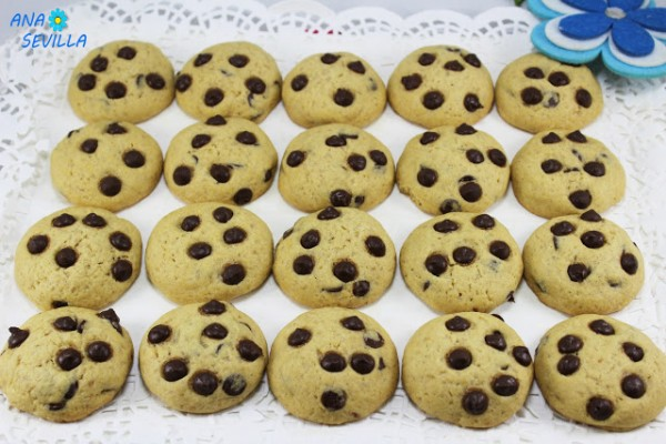 Cookies americanas Ana Sevilla cocina tradicional