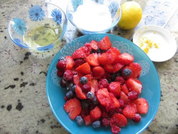 Espuma de fresas o frutas del bosque Thermomix