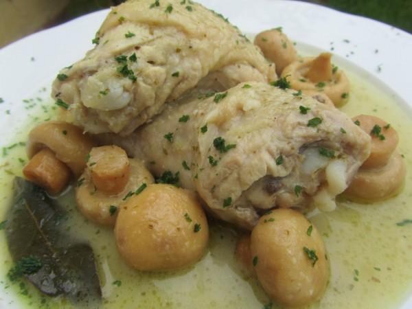 Pollo en salsa de cebolla Ana Sevilla