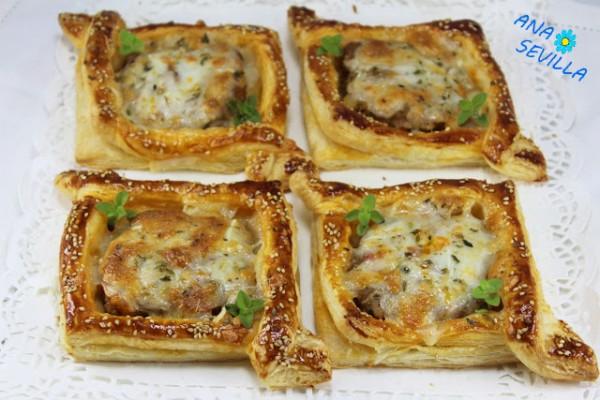 Tartaletas de carne Ana Sevilla cocina tradicional
